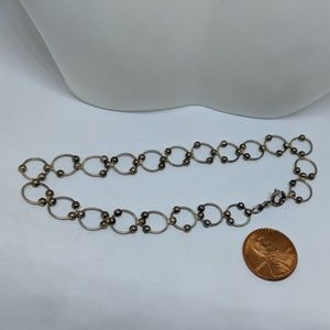 Jewelry - Sterling Silver Circle Anklet Ankle Bracelet